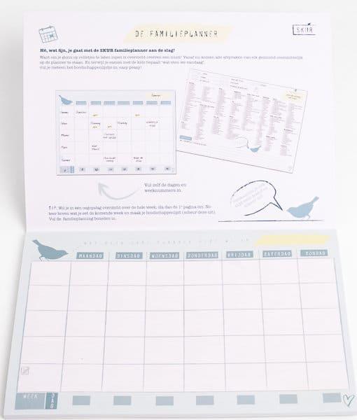 SKUR familieplanner