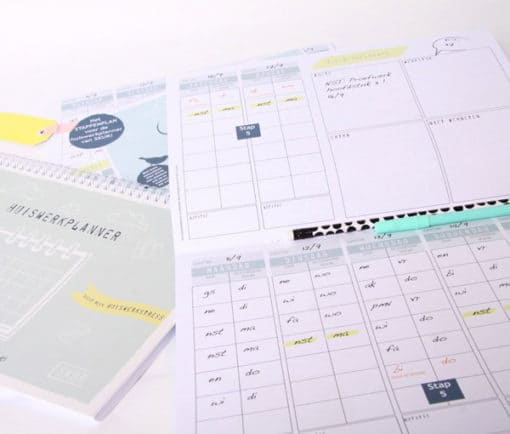 Huiswerkplanner ringband